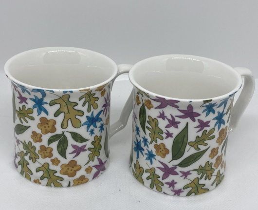 China Mugs Set 2