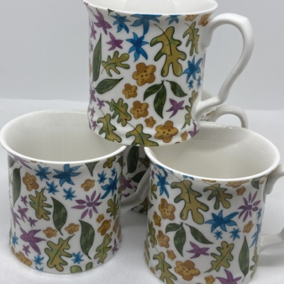 China Mugs Set 4