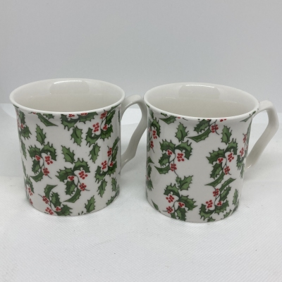 Holly - 2 mugs