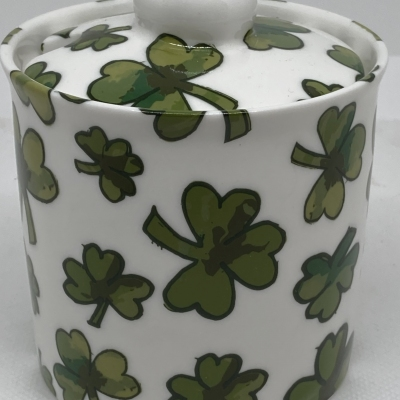 Shamrock Sugar Bowl - new pic for shop