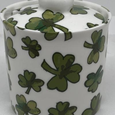 Shamrock Sugar Bowl - new pic for shop