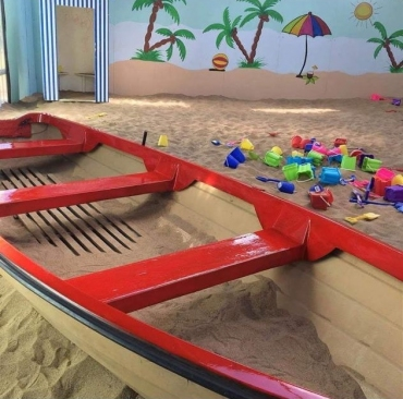 Tinahely Farm - another view of our Indoor Beach